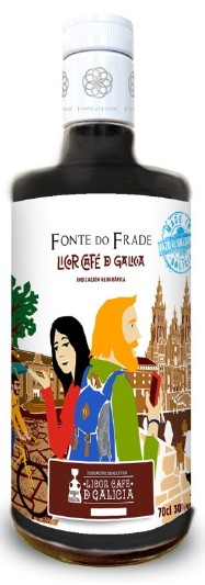 Tresterbrand mit Kaffee - Orujo de Café - Galizien - Spanien