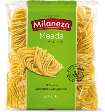 Massa Meada - Hartweizennudeln 500gr. - Milaneza - Portugal