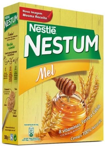 Honig Getreideflocken - Nestum com Mel 300gr. - Nestle - Portugal