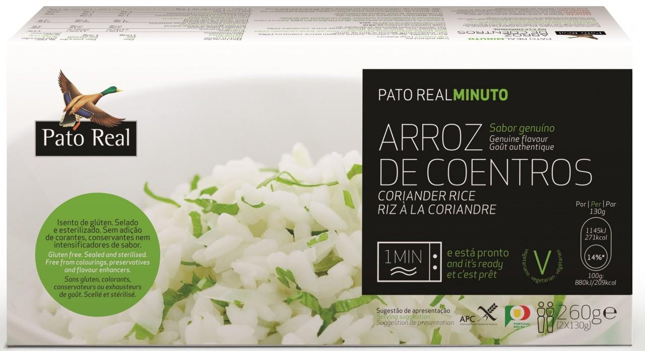 Reis mit Koriander - Arroz de Coentros 2x130gr. Pato Real