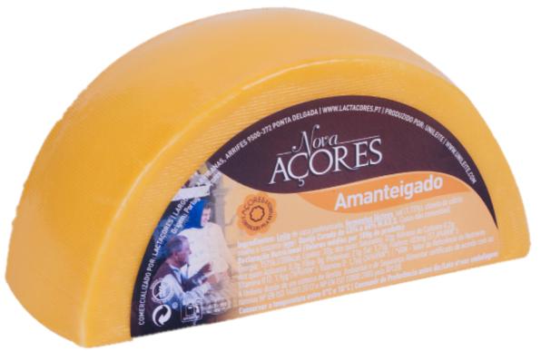 1/2 Queijo Amanteigado Nova Açores - Butterkäse 450gr. - Azoren-Käse - Portugal