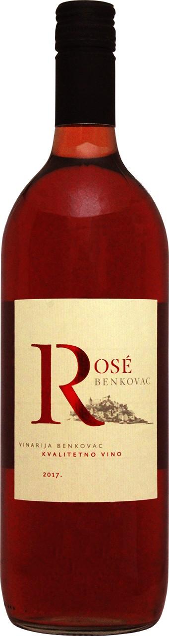 Badel Benkovac Rose 1 Ltr. - Rosewein - Dalmatien - Kroatien