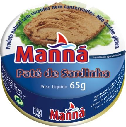 Sardinenpaste - Paté de Sardinha - Manna - Portugal