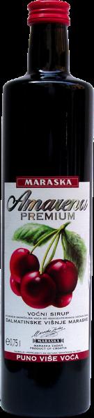 Maraska Amarena Premium Sirup - Sauerkirsche Fruchtsirup - Kroatien